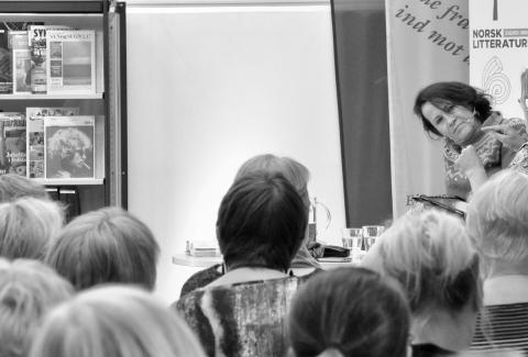 Vigdis Hjorth: Den livlige forfatteren