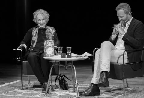 Festival atmosphere at The Norwegian Festival of Literature