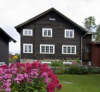 Bjerkebæk hage. Foto: Jan Haug.